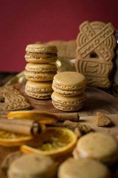 Spekulatius Macarons