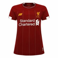 ed6c05f71 Advertisement(eBay) Liverpool FC Home Kit Red Polyester Womens Soccer Shirt  19 20