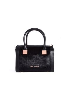 Ted Baker Exotic Metal Leather Tote