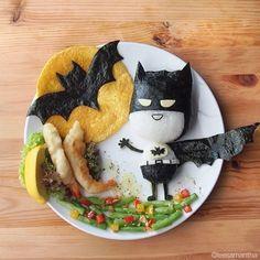 "New Blog Post: Lee Samantha's ""Food art"" for kids! http://babyglitter.com/blog/food-art-best/"