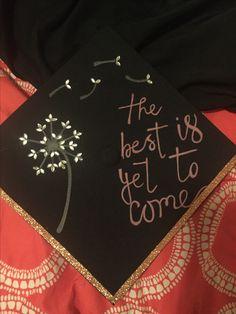 Graduation cap decoration Dandelion