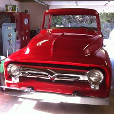 Dad's 1956 Ford F100