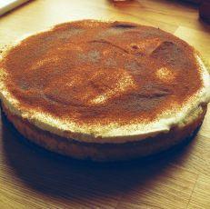 Jablečný dort se smetanovým krémem