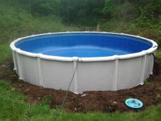 Caledonia Round above Ground Pool http://www.abovegroundpoolbuilder.com/pool/calendonia-package/