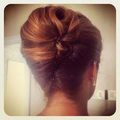 wedding hairstyles french twist - Google Search