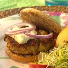 Crab Cake Burger Superbowl sandwich if your a Ravens fan!!