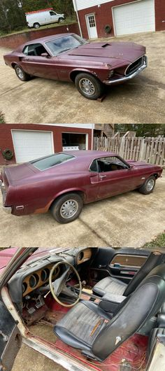running and driving 1969 Ford Mustang project Project Cars For Sale, Ford Mustang, Running, Projects, Racing, Ford Mustangs, Blue Prints, Keep Running, Jogging