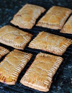 Whole Wheat Toaster Pastries Recipe from 100 Days of Real Food