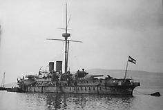 KRONPRINZ ERZHERZOG RUDOLF (1887). Barbette ironclad. 6,829 tons, 3-12in. Bbs, Austro Hungarian, Great Paintings, Ship Art, Battleship, Coastal, Old Things, Navy, Austria