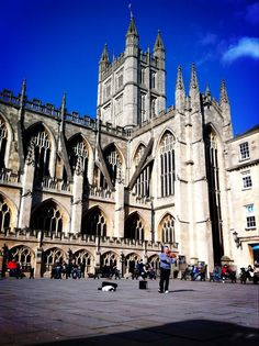 Bath Abbey >>> Twitter / andyp242: There are few better places ...