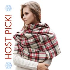 ❄️HP! 12/14 Winter Essentials!❄️ Blanket Scarf This beautiful on trend plaid blanket scarf is the perfect accessory for your fall wardrobe! Large enough to also wear as a shawl, belted, as a wrap, or as a scarf!!!! There are so many ways to wear this, it's a must have for fall!!! Accessories Scarves & Wraps