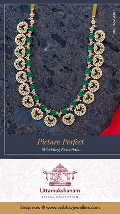 Vaibhav Jewellers presents diamond long haram collections for this bridal season. Antique Jewellery Designs, Gold Jewellery Design, Bead Jewellery, Gemstone Jewelry, Beaded Jewelry, Diamond Necklace Set, Diamond Brooch, Diamond Jewelry, Gold Jewelry