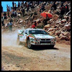 Lancia Rally 037 Miki Biasion  1983