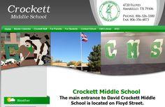 Houses For Sale Near Crockett Middle School Amarillo TX         http://thepamelamadoregroup.com 806-340-7630   Crockett Middle School 4720 Floyd Avenue Ama