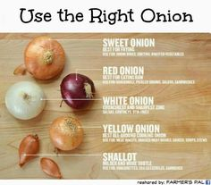great tips for cooking with onions! #cooking #tips #onions
