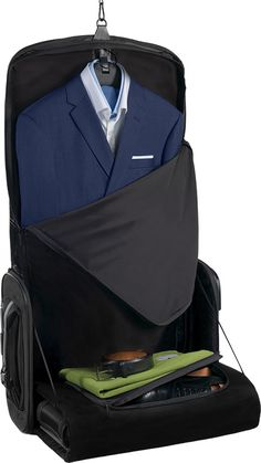 The best luggage to travel with a suit