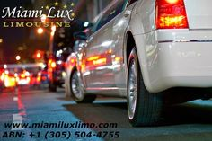 Our other areas of service include: Miami limousine service, car service and transportation to Miami airport, Miami airport transportation, Miami airport transfers, car service and cruise ship transportation for Port of Miami and Port Everglades in Ft. Lauderdale.