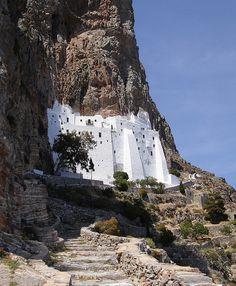 Panagia Hozoviotissa Monastery, Amorgos
