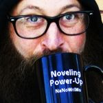 "NaNoWriMo 2013 ""Power-Up"" Mug | National Novel Writing Month Donation Station and Store"