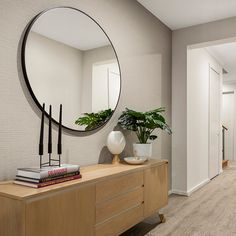 The grand entry sets the scene for the d SEVEN range, with space a defining feature throughout. Walk In Robe, Central Kitchen, Display Homes, Walk In Pantry, Open Plan Living, Ground Floor, Scene, Range, Flooring