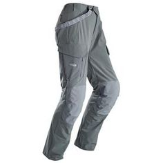 A burly sheep hunting pant built for racking up vertical in mid to cold conditions the Sitka Gear Men's Timberline Pant has long stood as the alpine hunter's workhorse. The Timberline Pant is a highly Hunting Pants, Hunting Clothes, Hunting Gear, Duck Hunting, Sitka Gear, Spandex Pants, Polyester Spandex, Outdoor Gear, Parachute Pants