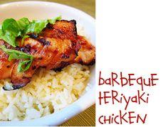Lovely Little Snippets: Barbeque Teriyaki Chicken