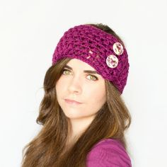 Keep yourself warm and cozy this year with a cute yet stylish puff stitch ear warmer! Free crochet pattern available! yay, thanks so xox