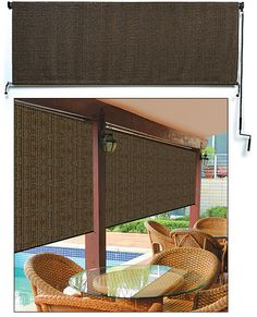 lee valley Coolaroo® Roller Blind                                   http://www.leevalley.com/en/gifts/page.aspx?p=72727&cat=4,104,53209&ap=16                   6X6  $69                    6X8  $79
