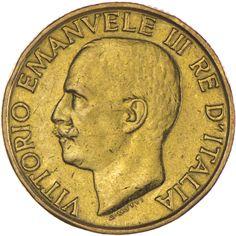 Vittorio Emanuele III. 1900 - 1946   20 Lire 1923 Gold  auf den 1. Jahrestag des Marsches der Faschisten auf Rom