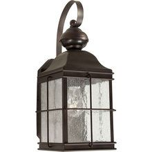 View the Forte Lighting 18006-01 Craftsman / Mission 1 Light Outdoor Wall Sconce from the Motion Sensor - Collection at LightingDirect.com. -- Like this style for next to front door w/sensor...