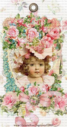 victorian and vintage photos Vintage Tags, Vintage Postcards, Vintage Prints, Vintage Clip, Shabby Chic Christmas, Vintage Christmas, Pink Christmas, Christmas Decor, Vintage Pictures