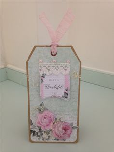 Created by Maxcine Etherington for Craftwork Cards using The Fabulous Shabby Chic collection. Craftwork Cards, Altenew, Vintage Cards, Event Decor, Making Ideas, I Card, Gift Tags, Card Ideas, Projects To Try