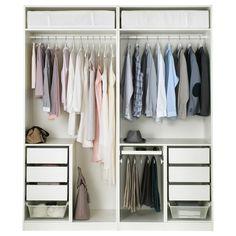 Closet Organizers 812759063980961985 - IKEA PAX Armoire-penderie Source by bonnetisabelleccs Diy Wardrobe, Wardrobe Storage, Bedroom Wardrobe, Wardrobe Design, Glass Wardrobe, Storage Room, Wardrobe Ideas, Wardrobe Internal Design, Open Wardrobe