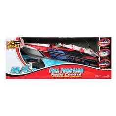 New Bright Full Function Donzi Boat Remote Controlled Toy - 7142R