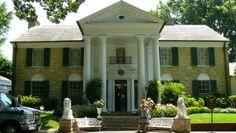 Graceland, in Memphis, TN Elvis Presley Graceland, Glass Theme, Memphis Tennessee, Great Memories, Travel Pictures, Travel Pics, Renting A House, House Tours, Trip Advisor