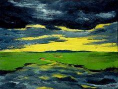 Emil Nolde : Crépuscule, 1916