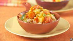 Couscous végétarien: ingrédients, préparation, trucs, information nutritionnelle