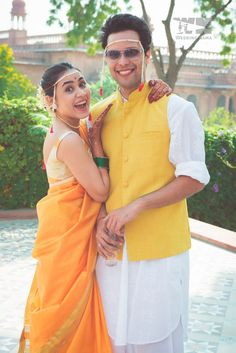 Browse photos, outfit & decor ideas & vendors booked from a real North Indian Wedding Destination wedding in Jaipur. Marathi Bride, Marathi Wedding, Saree Wedding, Wedding Bride, Desi Wedding, Wedding Ideas, Wedding Story, Wedding Attire, Wedding Couples