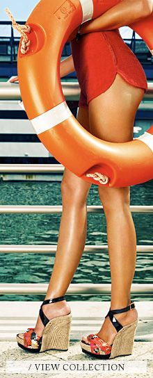 Jimmy Choo--Sexy as hell Looks Style, My Style, Yacht Week, Orange You Glad, Vogue, Bikinis, Swimwear, Orange Crush, Resort Wear