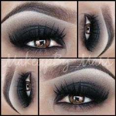 .@makeupby_mars | Smokey eyes today ;) as requested a pictorial for this smokey eye coming up♡ ...