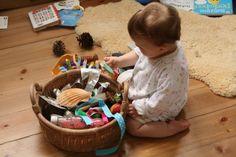 Cosa mettere e come proporre il cesto dei tesori ai bambini piccoli