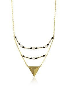65% OFF Edge of Ember Thahn Black Crystals Necklace #jewelry #Women