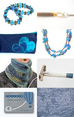 Blue gifts by Tronell on Etsy--Pinned with TreasuryPin.com