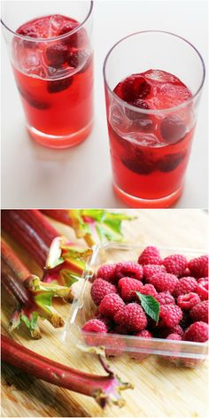 Your Go-To Porch Drink: Raspberry Rhubarb Sangria.