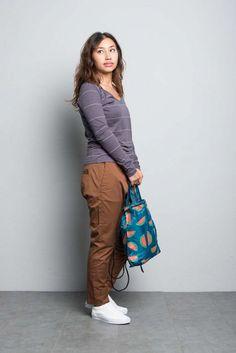 Kitchener items Benita Stripe (Asphalt Mud) - Pullover - Ladies