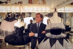 Valentino Creates Costumes for the New York City Ballet