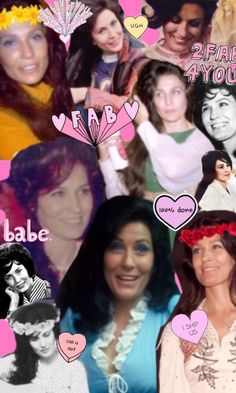 collage i made bc i couldn't find any loretta collages