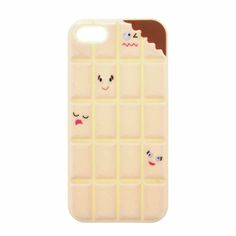 White Chocolate Chunks Phone Case - iPhone 5/5S