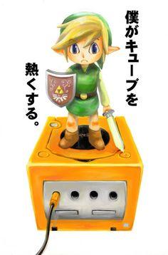 Toon Link Gamecube, #Zelda