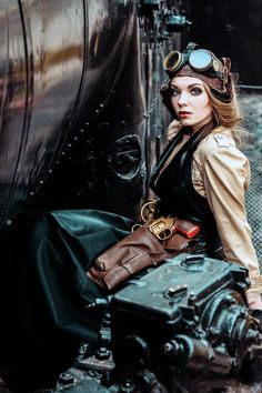 "steampunkopath: "" Steampunk Girls https://www.tsu.co/steampunkgirls """